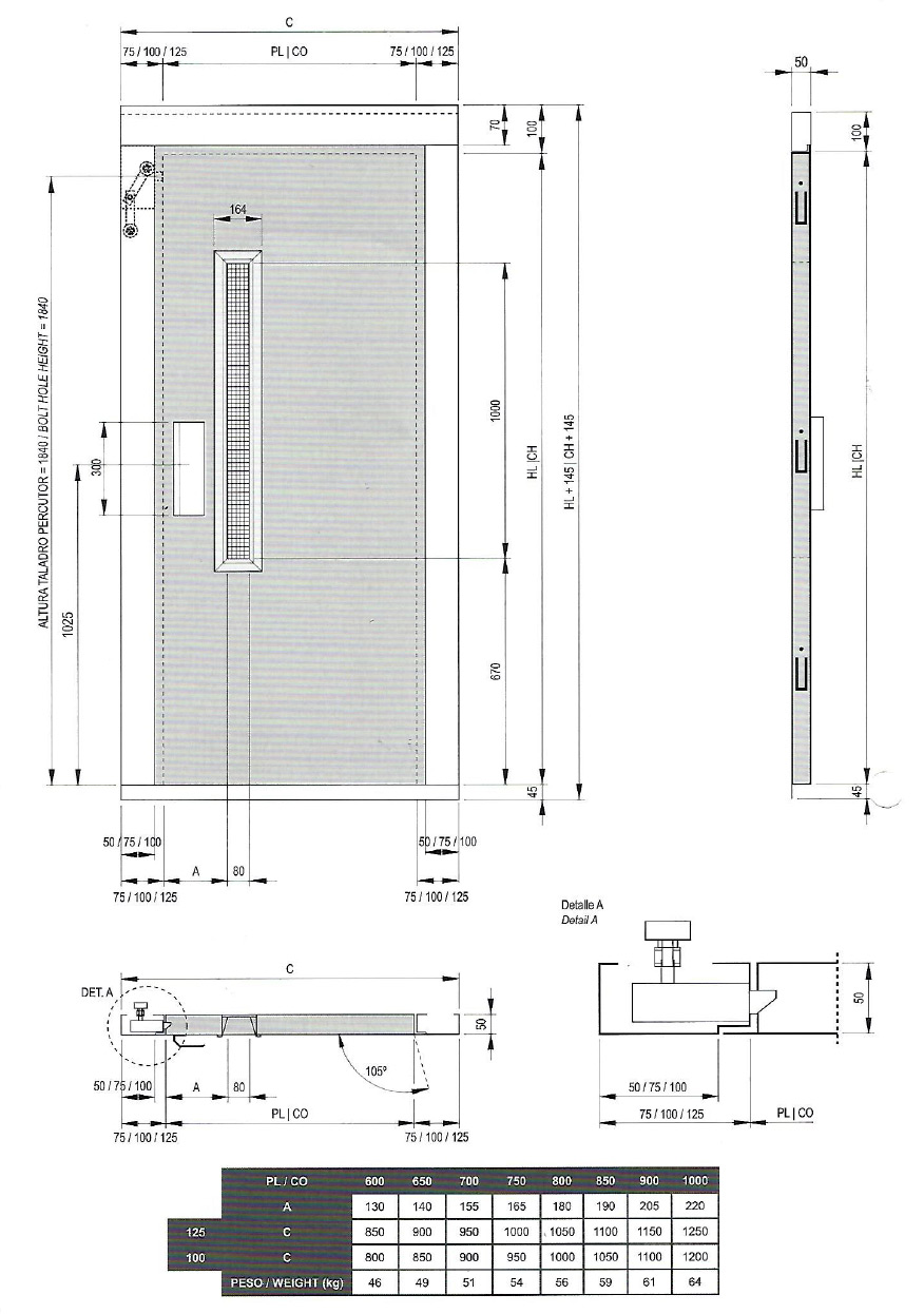 Ascenseur sur plan maison moderne for Decoration porte ascenseur