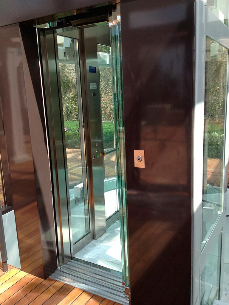 Implantation Ext 233 Rieure De L Ascenseur Ciel Ascenseurs